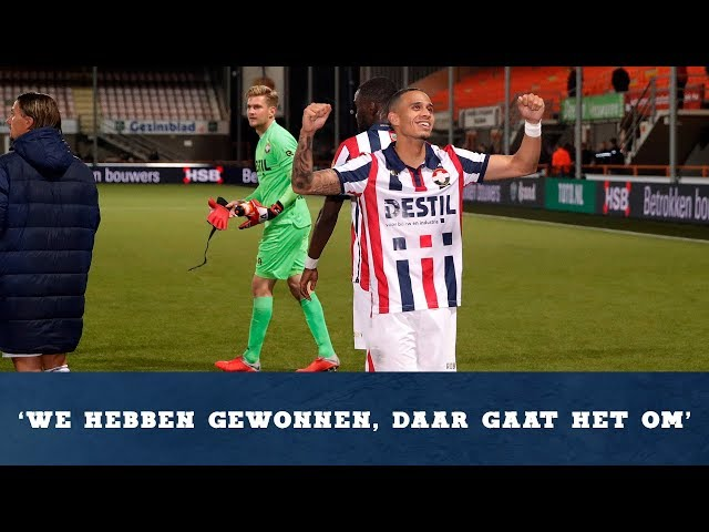 Interview Damil Dankerlui na FC Volendam - Willem II