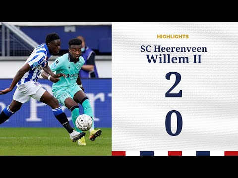 Highlights SC Heerenveen   Willem II (0-2)
