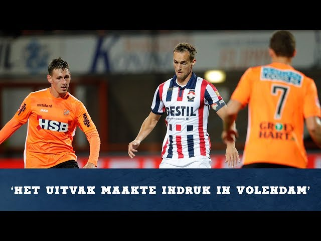 Interview Freek Heerkens na FC Volendam - Willem II