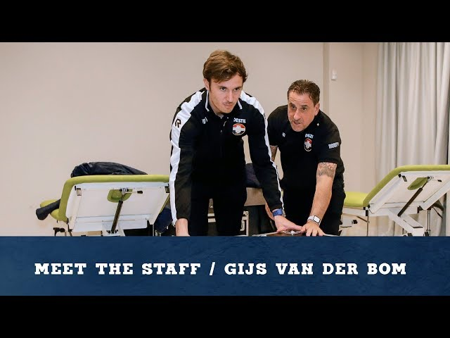 Meet The Staff / Gijs van der Bom