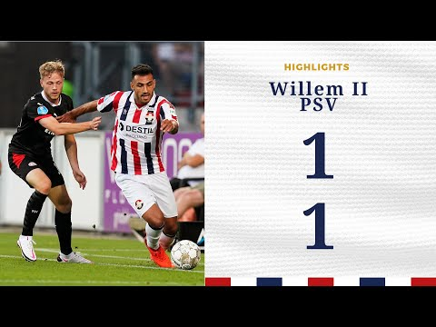 Highlights Willem II - PSV (1-1)
