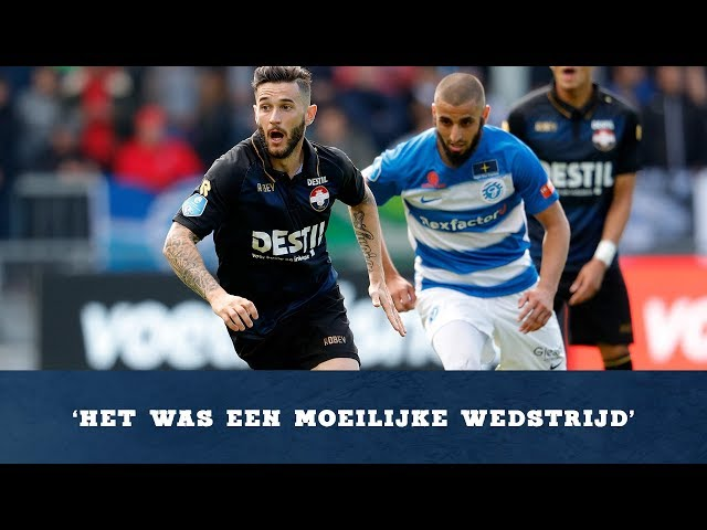 Interview met Pol Llonch na De Graafschap - Willem II